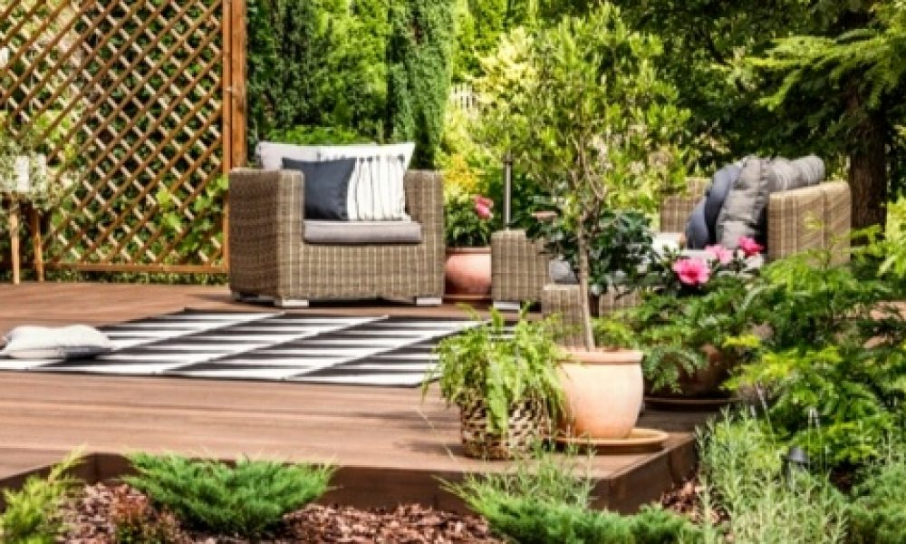 Transformer votre jardin en cuisine, aire de jeux, espace détente
