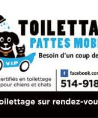 Toilettage Pattes Mobiles