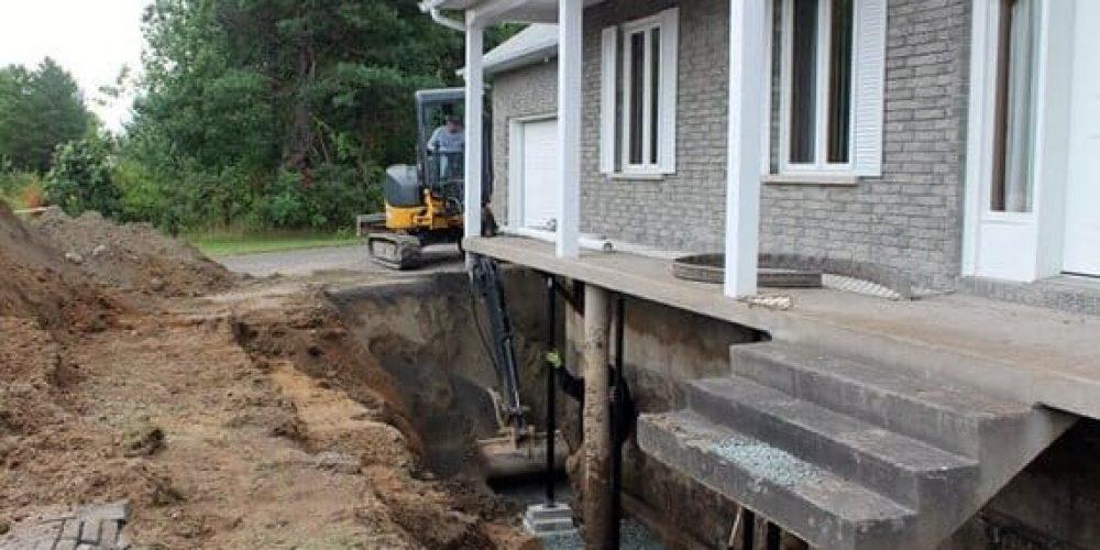 À qui s'adresser pour vos travaux de fondations, d'imperméabilisation, d'excavation ou de terrassement ?